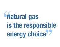 quote Natural gas: comfortable and responsible
