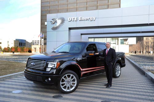 Harley Davidson Ford F-150 Natural Gas Truck. Photo Credit: DTE Energy