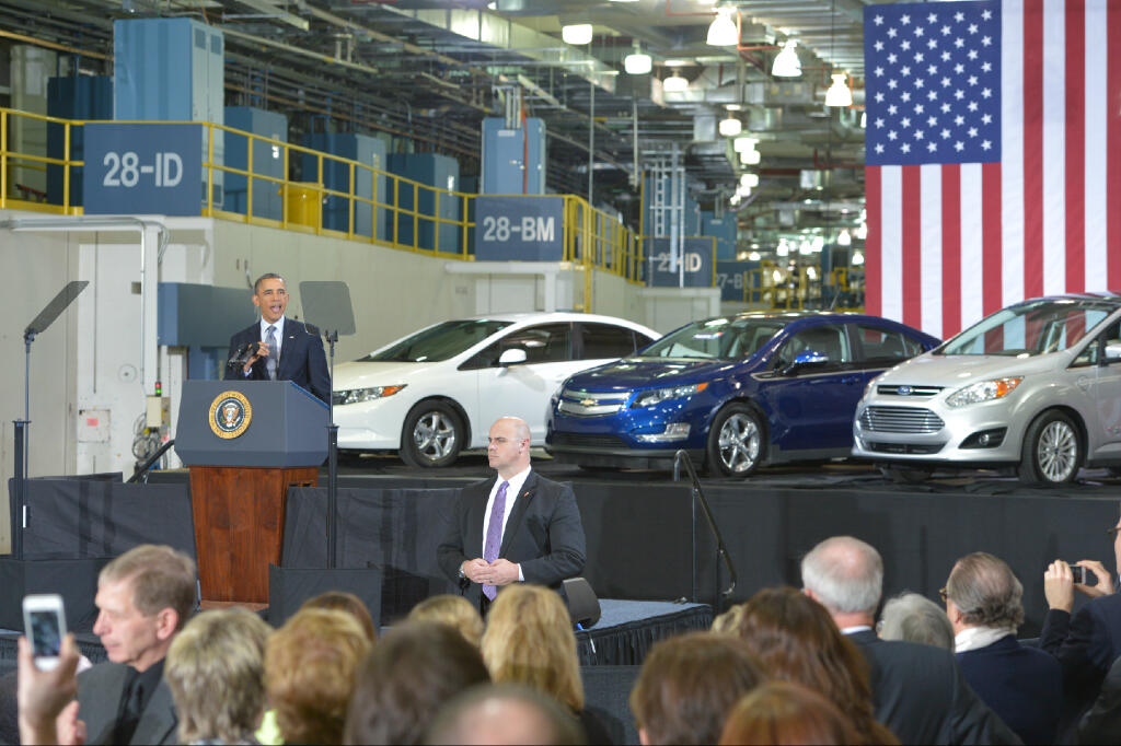 Obama NGV March 2013 Driving the Nation to a Secure Energy Future: The White House Gives a Boost to Natural Gas Vehicles