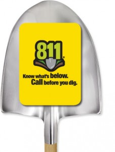 811logowithshovel 227x300 AGA Marks National Safe Digging Month with Natural Gas Video for Children