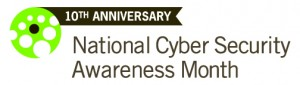 ncsam10 logo 300x85 National Cybersecurity Awareness Month: Creating Strong Passwords