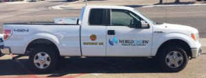 WorldCNG Passengerside2 300x114 World CNG Revved Up to Spotlight NGV Pickup at International Builders' Show