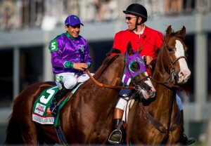 "Victor Espinoza kentucy derby race 2 300x208 California Chrome Wins Kentucky Derby, Promotes ""Call 811"" to Millions"