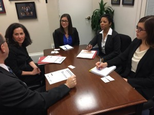 Representatives from Entergy and Atmos Energy met with Sen. Roger Wicker's (R-MS) staff to discuss LIHEAP funding. Photo Credit: Entergy