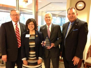Rep. Peter Welch was presented with this year's NEUAC Extra Mile award. Photo Credit: http://welch.house.gov/