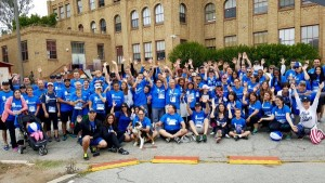 SoCal Gas team of volunteers at the New Direction for Veterans Memorial Day 5K